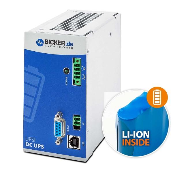 96W / 24VDC 4A / Li-Ion Batterie