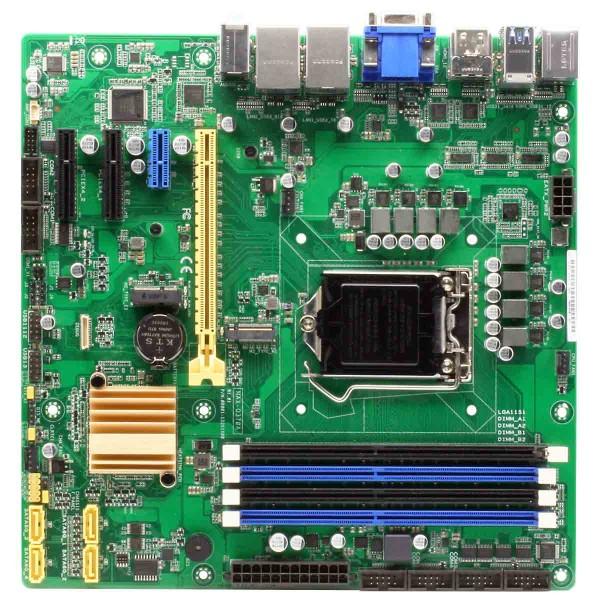 micro-ATX AAEON Industrie, Intel®Q370 Express