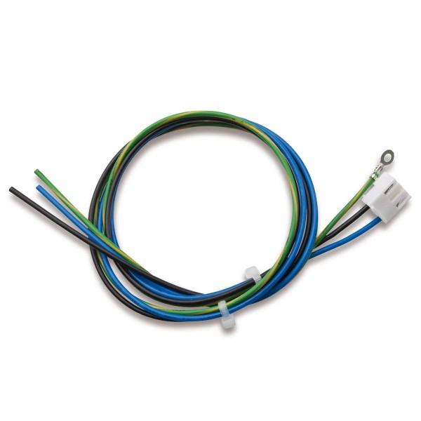 AC-Leitung, 3-polig, PE: Ringkabelschuh M5