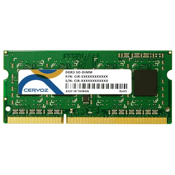 MEM, SO-DIMM, DDR3, 4GB