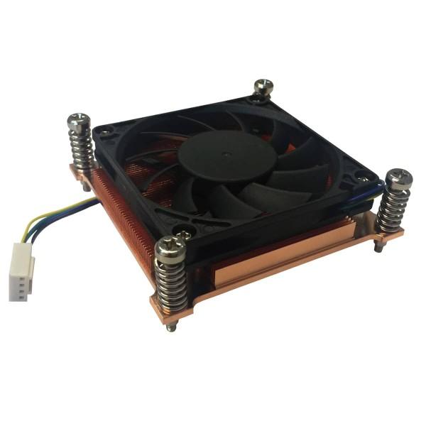 CPU Cooler for LGA 115x, 1U heat sink axial fan
