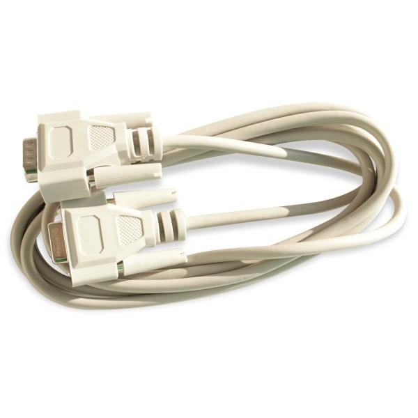 RS232-Kabel / 9 polig / Stecker- Buchse / 2000mm