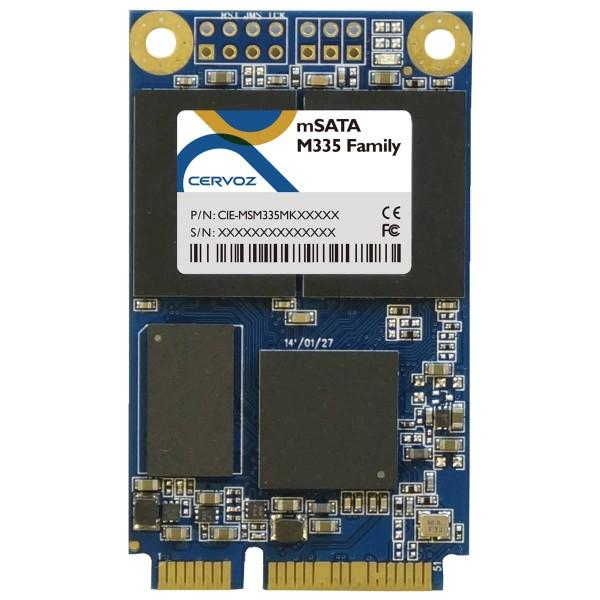 Industrial MSATA Module M335, 128GB, MLC