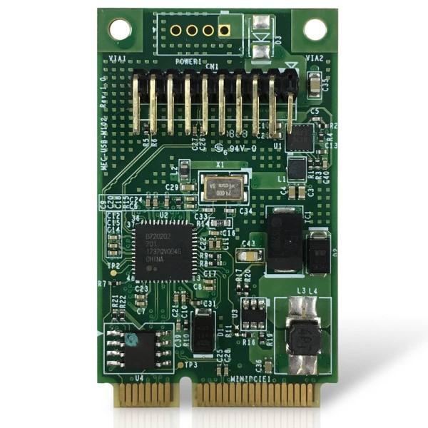 Mini PCI-e 2-port USB 3.0 board