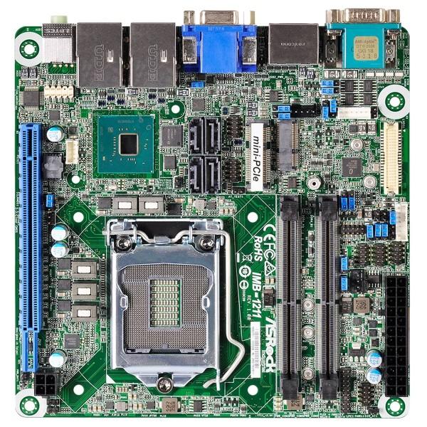 mini-ITX ASRock Ind. Series, Intel®Q370 Chipset