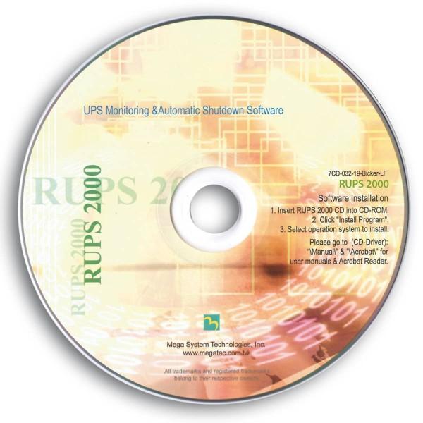 USV-Management-Software (CD-ROM)