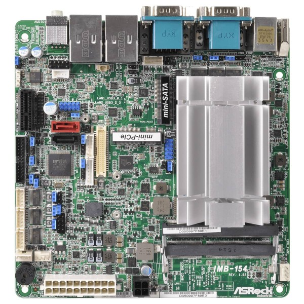 mini-ITX ASRock Ind. Series, with N3150 processor