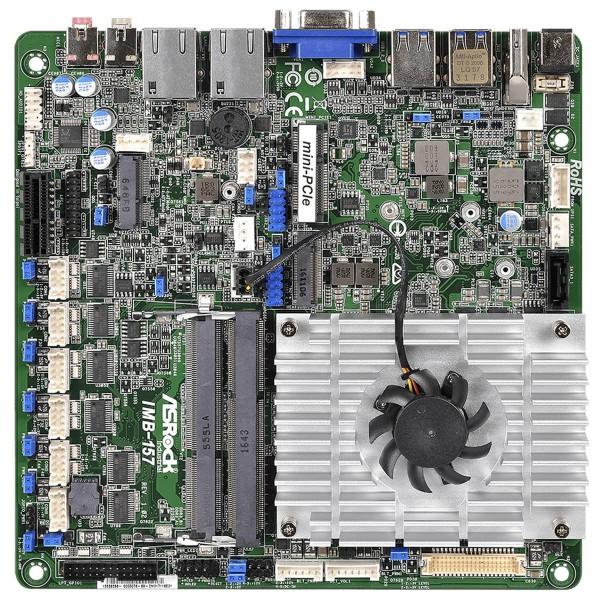 mini-ITX ASRock Ind. Series, with J3455 processor