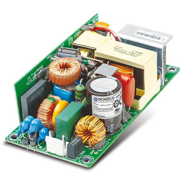 80W / 90-264VAC / +12V