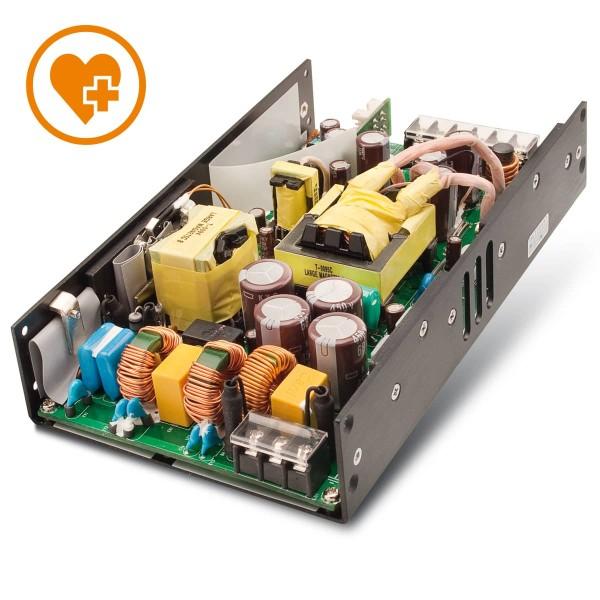 500W / 90-264VAC / aktive PFC / +48V / 7,5A