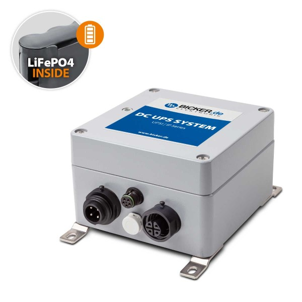 96W / 12V 8A / LiFePo4 Batterie