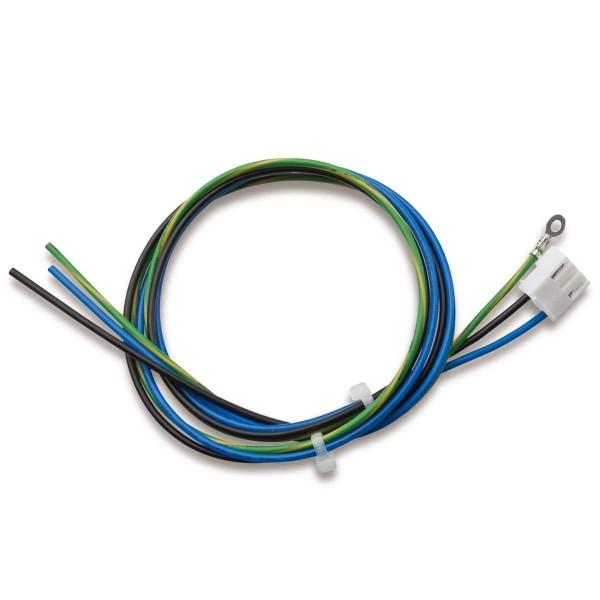 AC-Leitung, 3-polig, PE: Ringkabelschuh M3