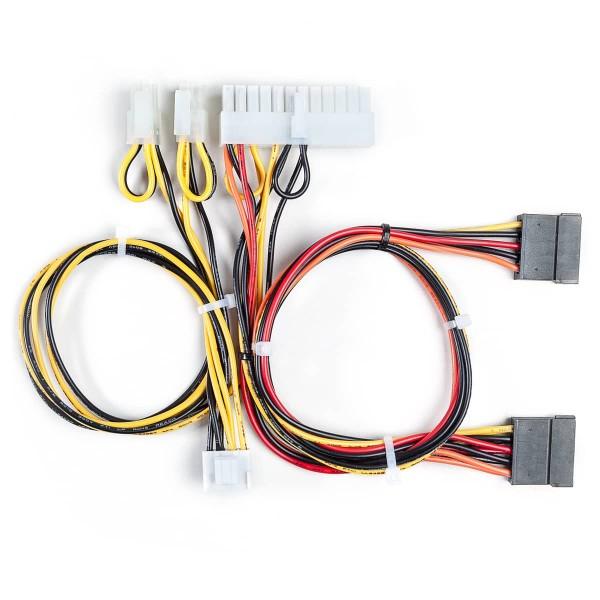 12V Eingangskabel / ATX24 / 4+4 Pin /
