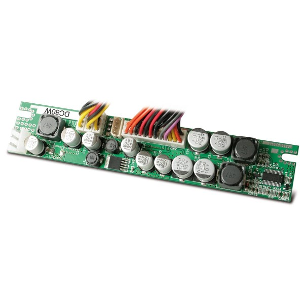 80W / 12VDC / +5Vsb/+3,3V/+5V/+/-12VDC