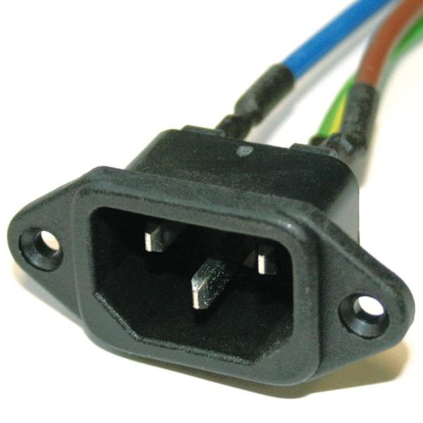 IEC-320 Buchse / 500mm Leitung