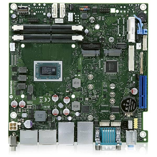 mini-ITX Kontron Industrie Serie, QC V1807B