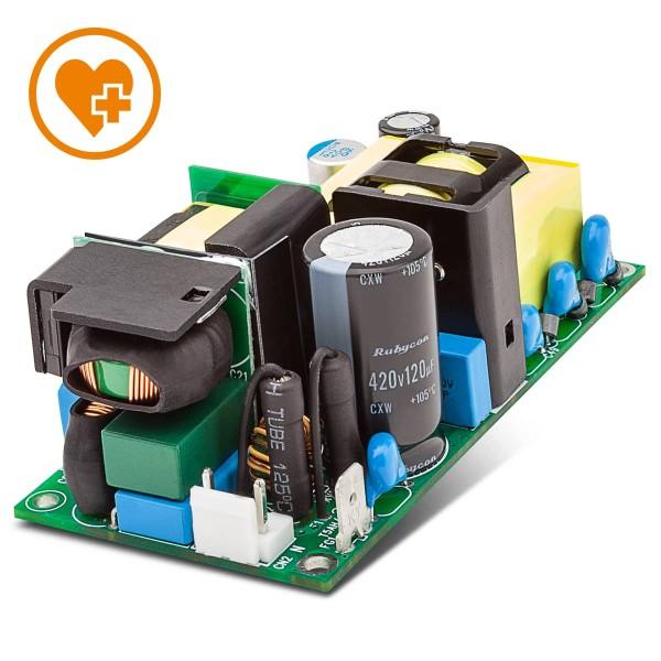 140W / 90-264VAC / +12V / Open Frame